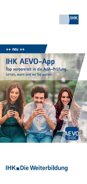 Cover von IHK AEVO-App - 100 Flyer