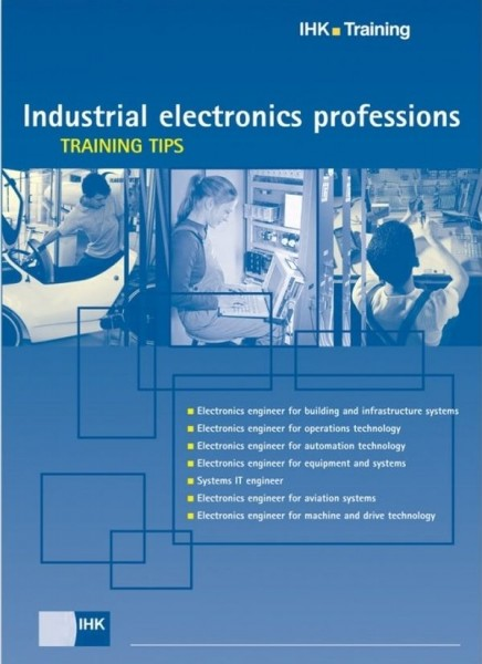 Cover von Industrial electronics professions – Training tips