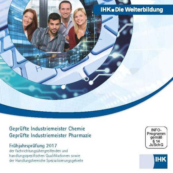 Cover von Geprüfte Industriemeister Chemie/Pharmazie - Frühjahrsprüfung 2017, CD-ROM