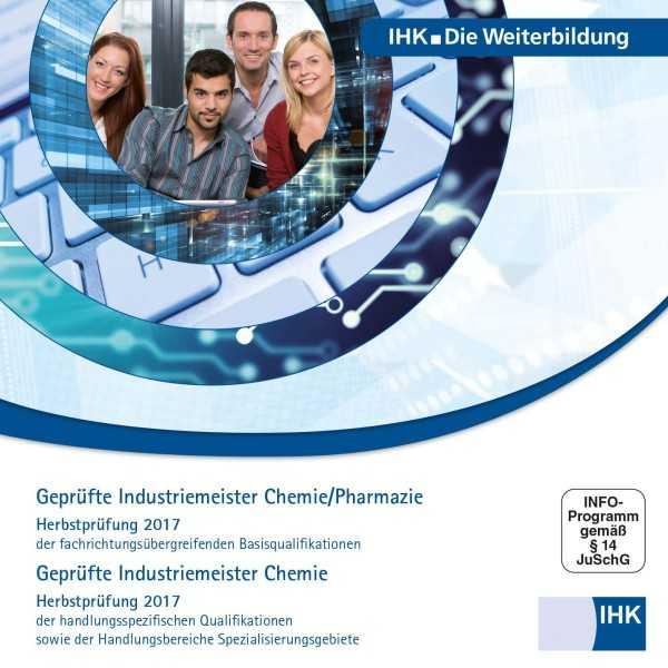 Cover von Geprüfte Industriemeister Chemie / Pharmazie + Geprüfte Industriemeister Chemie - Herbstprüfung 2017, CD-ROM