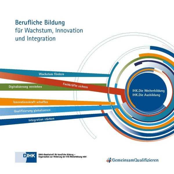 Cover von Berufliche Bildung für Wachstum, Innovation und Integration -