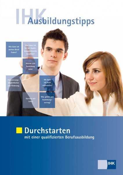 Cover von IHK Ausbildungstipps - Durchstarten mit einer qualifizierten Berufsausbildung