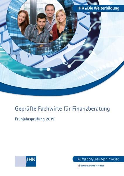 Cover von Fachwirte für Finanzberatung eBook - Frühjahrsprüfung 2019