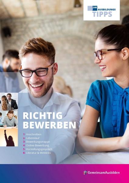 Cover von Richtig bewerben - IHK Ausbildungstipps