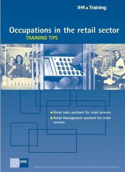 Cover von Occupations in the retail sector – Training Tips - Start in den Beruf: fremdsprachige Broschüren