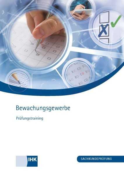 Cover von Bewachungsgewerbe - Prüfungstraining