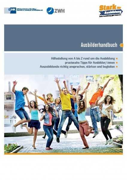 Cover von Das IHK Ausbilderhandbuch – alles, was Ausbilder wissen müssen - Praxisnahe Ausbilder Tipps