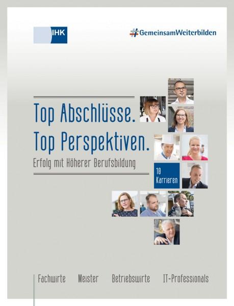 Cover von Erfolg mit Höherer Berufsbildung - Top Abschlüsse. Top Perspektiven.