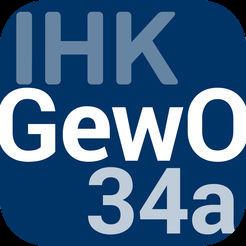 Cover von IHK GewO 34a-App | Bewachungsgewerbe - Über 640 Testfragen zur Unterrichtung nach § 34a GewO