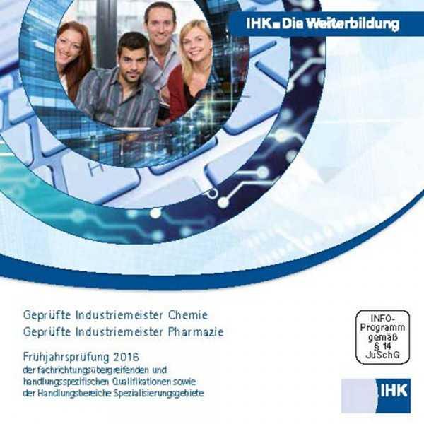 Cover von Geprüfte Industriemeister Chemie/Pharmazie - Frühjahrsprüfung 2016, CD-ROM